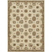 Loloi Rugs Fairfield Life Style Collection Ivory Taupe 5 ft. x 7 ft. 6 in. Area Rug