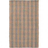 Surya Country Living Pussywillow Gray 3 ft. 6 in. x 5 ft. 6 in. Area Rug