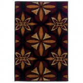 Oriental Weavers Camille Daly Red 1 ft. 10 in. x 2 ft. 10 in. Scatter Area Rug