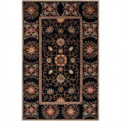 Artistic Weavers Calabria Jet Black 3 ft. 3 in. x 5 ft. 3 in. Area Rug