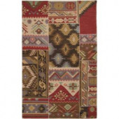 Artistic Weavers Roermond Red 2 ft. x 3 ft. Accent Rug