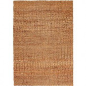 LR Resources Contemporary Natural Rectangle 5 ft. x 7 ft. 9 in. Braided Natural Fiber Indoor Area Rug