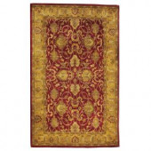 Home Decorators Collection Rochelle Red 8 ft. x 11 ft. Area Rug