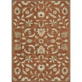 Loloi Rugs Fairfield Life Style Collection Rust 7 ft. 6 in. x 9 ft. 6 in. Area Rug