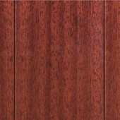 Home Legend High Gloss Santos Mahogany 3/8in.Thick x4-3/4 in.Widex47-1/4 in Length Click Lock Hardwood Flooring (24.94 sq.ft./case)