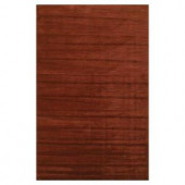 Kas Rugs Solid Texture Brick 3 ft. 3 in. x 5 ft. 3 in. Area Rug