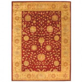 Safavieh Heritage Red/Gold 8 ft. x 11 ft. Area Rug