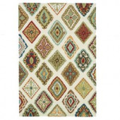 Loloi Rugs Olivia Life Style Collection Ivory Multi 5 ft. x 7 ft. 6 in. Area Rug