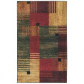 Mohawk Alliance Multi 1 ft. x 8 in. x 2 ft. 10 in. Accent Rug
