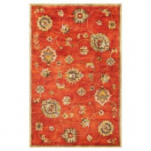 Kas Rugs Today's Mahal Sienna 3 ft. 3 in. x 5 ft. 3 in. Area Rug