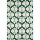 Loloi Rugs Weston Lifestyle Collection Blue Green 5 ft. x 7 ft. 6 in. Area Rug