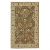Home Decorators Collection Leeds Brown 2 ft. x 3 ft. Area Rug