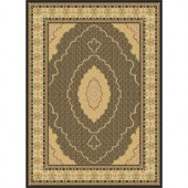 Tayse Rugs Century Black 11 ft. 3 in. x 15 ft. Traditional Area Rug