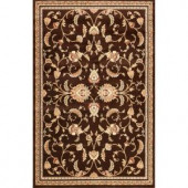 Natco Annora Brown 7 ft. 10 in. x 10 ft. 10 in. Area Rug