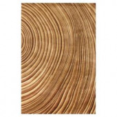 Kas Rugs Tree Rings Natural 2 ft. x 3 ft. Area Rug
