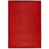 Anji Mountain Villager Crimson Red 2 ft. x 3 ft. Area Rug