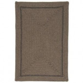 Colonial Mills Shear Natural Latte 12 ft. x 15 ft. Braided Area Rug