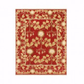 Home Decorators Collection Patrician Red 2 ft. x 3 ft. Area Rug