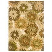 Home Decorators Collection Legacy Sparkle Beige 5 ft. 3 in. x 7 ft. 6 in. Area Rug