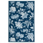 Home Decorators Collection Arbor Blue 2 ft. 6 in. x 4 ft. Area Rug