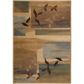Rizzy Home Bellevue Collection Beige 2 ft. 3 in. x 7 ft. 7 in. Area Rug