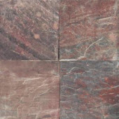 MS International Copper Fire 16 in. x 16 in. Honed Quartzite Floor & Wall Tile