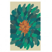 Home Decorators Collection Mora Green 2 ft. x 3 ft. Area Rug