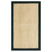 Home Decorators Collection Marblehead Sisal Black 9 ft. x 12 ft. Area Rug