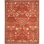 Safavieh Heritage Red/Green 7.5 ft. x 9.5 ft. Area Rug