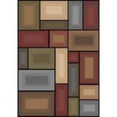 Prism Multi 53 in. x 79 in. Area Rug