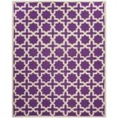 Safavieh Cambridge Purple/Ivory 8 ft. x 10 ft. Area Rug