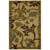 Mohawk Lancaster Neutral 1 ft. 8 in. x 2 ft. 10 in. Accent Rug