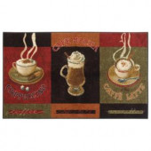 Mohawk Caffe Latte Primary 30 in. x 46 in. Accent Kitchen Rug