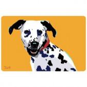 Bungalow Flooring Printed Dalmatian 38 17.5 in. x 26.5 in. Mat