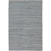 Chandra Easton Grey/Blue 5 ft. x 7 ft. 6 in. Indoor Area Rug