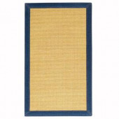 Home Decorators Collection Freeport Sisal Honey and Denim 8 ft. x 10 ft. 6 in. Area Rug