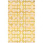 Artistic Weavers Herbert Lemon 3 ft. 3 in. x 5 ft. 3 in. Area Rug