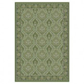 Kas Rugs Celestial Craft Olive 5 ft. 3 in. x 7 ft. 7 in. Area Rug