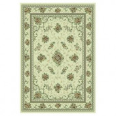 Kas Rugs Antique Artistry Ivory 7 ft. 10 in. x 11 ft. 2 in. Area Rug