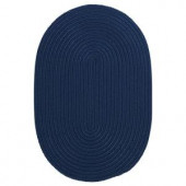 Colonial Mills Boca Raton Jasmine 2 ft. x 3 ft. Oval Braided Accent Rug
