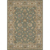 Loloi Rugs Fairfield Life Style Collection Teal Slate 5 ft. x 7 ft. 6 in. Area Rug