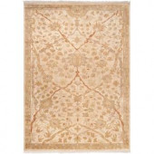 Artistic Weavers Yousef Cream Semi-Worsted New Zealand Wool 9 ft. x 13 ft. Area Rug