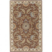 Artistic Weavers Imperial Golden Brown 5 ft. x 8 ft. Area Rug