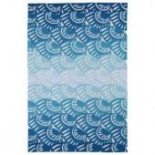 Kaleen Matira Blue 2 ft. x 3 ft. Area Rug