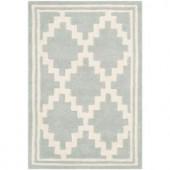 Safavieh Chatham Grey/Ivory 2 ft. x 3 ft. Area Rug