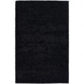 Chandra Mebec Black 7 ft. 9 in. x 10 ft. 6 in. Indoor Area Rug