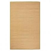 Home Decorators Collection Woolen Jute Dark Natural 2 ft. x 3 ft. 5 in. Area Rug