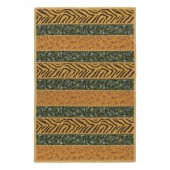 Kaleen Indra Sharab Olive 7 ft. 6 in. x 9 ft. Area Rug
