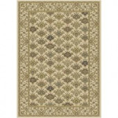 Serendipity Ivory 3 ft. 9 in. x 5 ft. 2 in. Area Rug