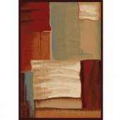 Home Dynamix Art Deco Multi 5 ft. 2 in. x 7 ft. 2 in. Area Rug